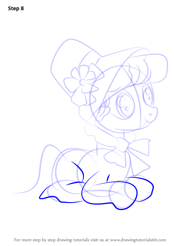 Learn How To Draw Young Auntie Applesauce From My Little Pony