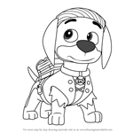 How to Draw Arrby from PAW Patrol
