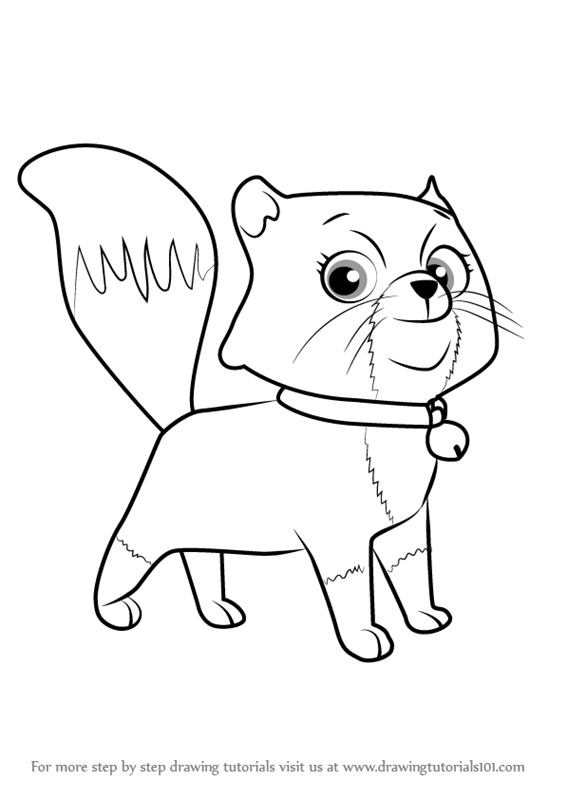 Learn How to Draw Cali from PAW
