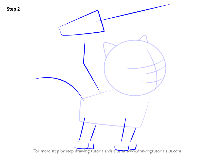 Learn How To Draw Cat Chase From Paw Patrol Paw Patrol