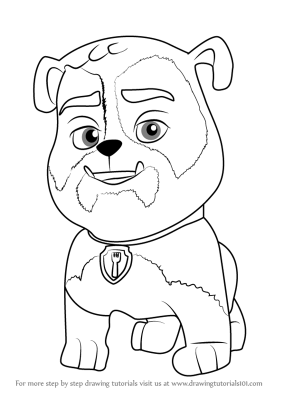 Learn How To Draw Jim Gaffigan From Paw Patrol Paw Patrol