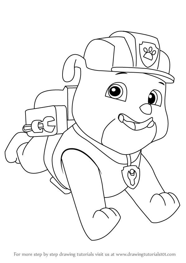 coloring pages paw patrol christmas download