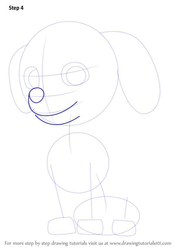 Draw Outlines For Nose U0026 Lips.