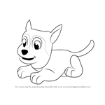 How to Draw Sylvia from PAW Patrol