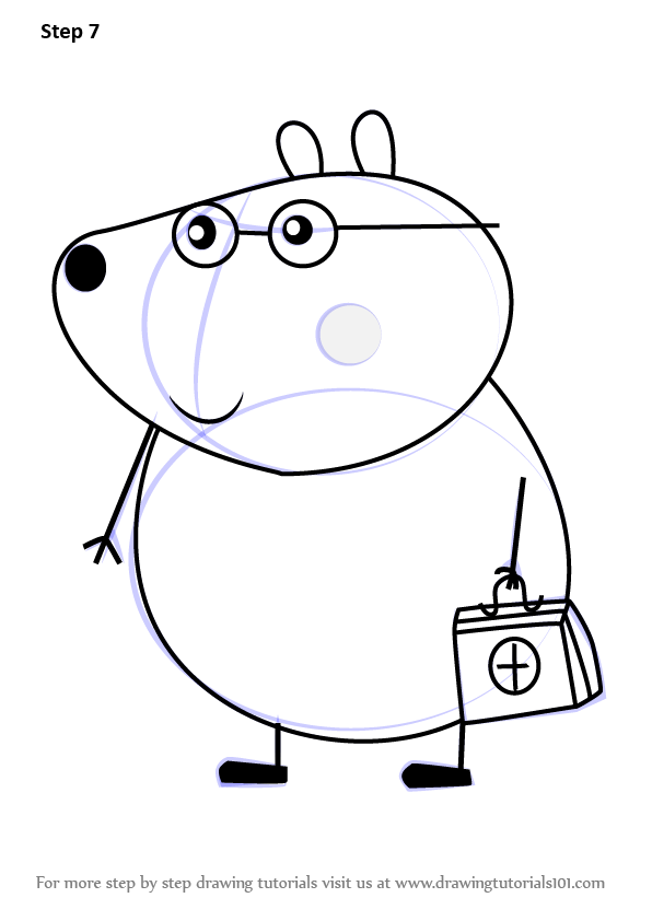 Learn How to Draw Dr Brown Bear