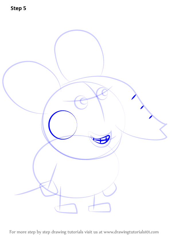 Learn How To Draw Edmond Elephant From Peppa Pig Peppa
