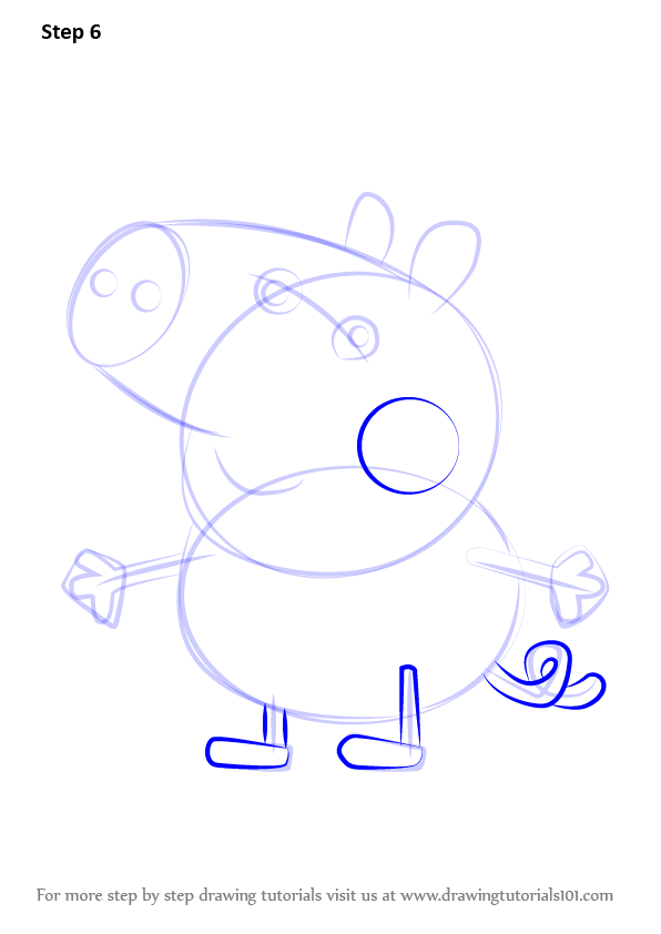 How To Draw George 2 Peppa Pig