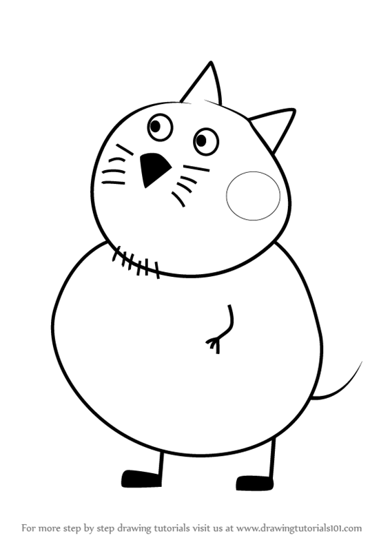Learn How to Draw Mr. Cat from - 50.2KB