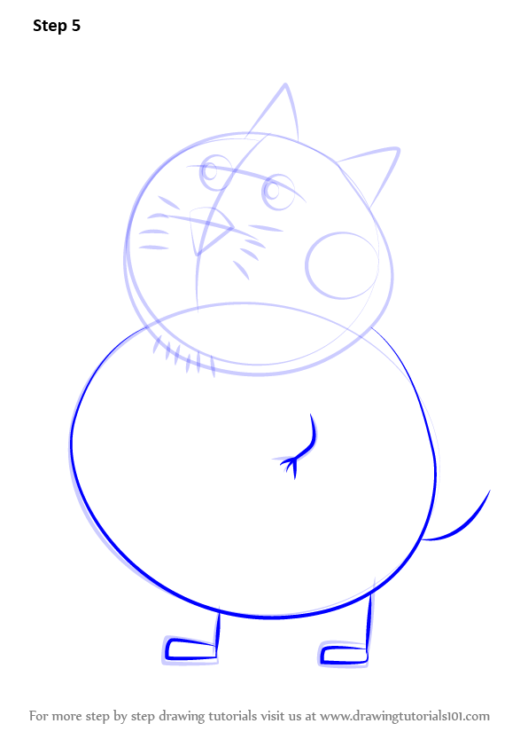 Learn How to Draw Mr. Cat from - 40.2KB