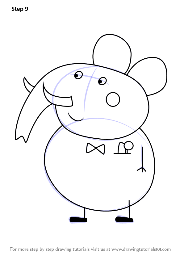 Learn How to Draw Mr Elephant