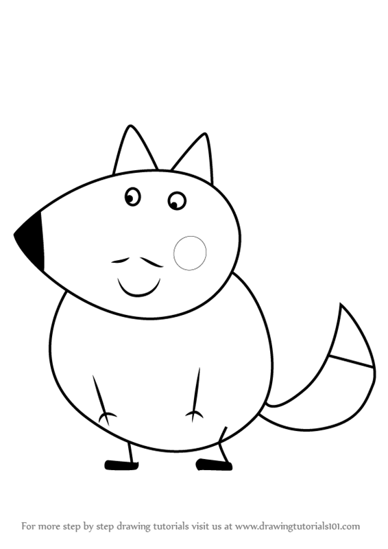 Learn How to Draw Mr Fox from