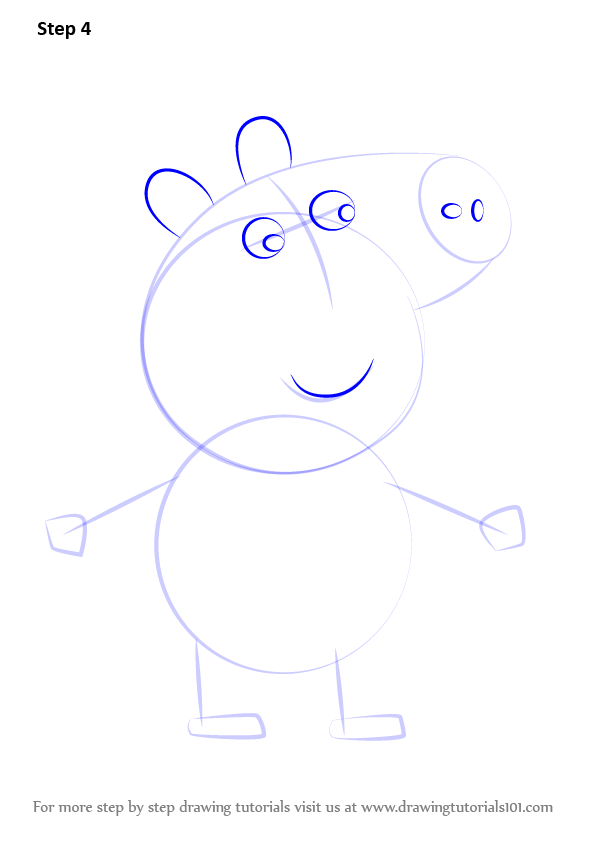 Learn How to Draw Tobias Pig from