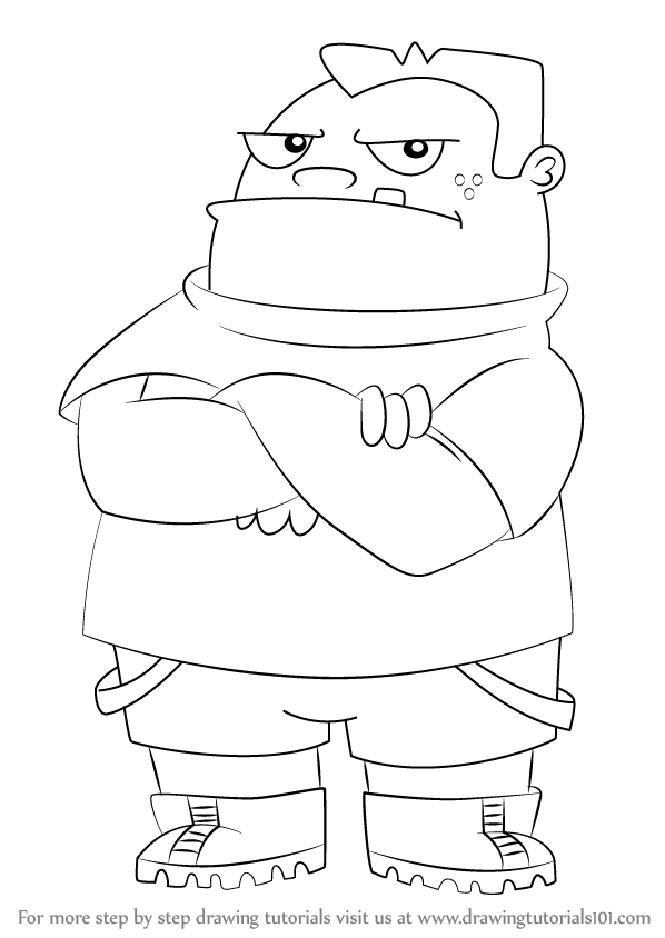 Phineas and Ferb Coloring Pages Baljeet Tjinder  Free