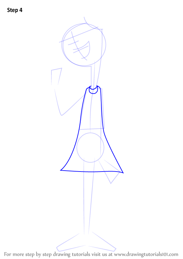 learn how to draw candace flynn from phineas and ferb