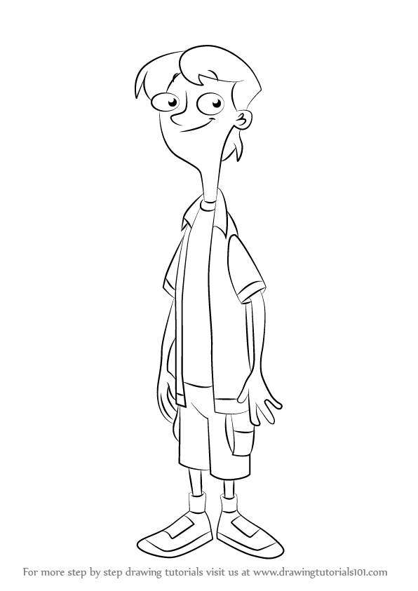 Phineas and ferb coloring pages free printable