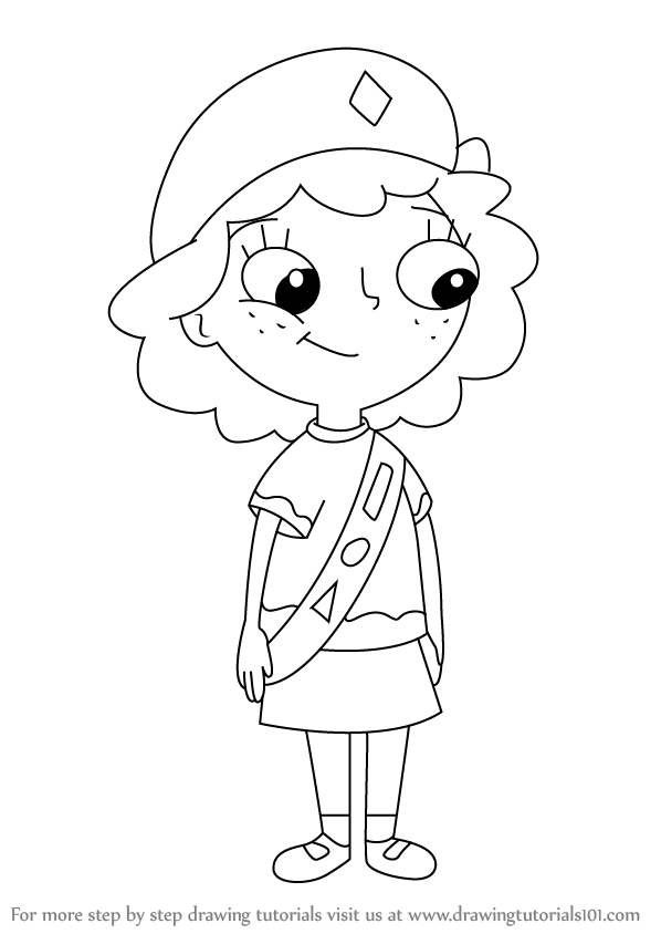 Isabella From Phineas And Ferb Drawing 9580 | INFOBIT