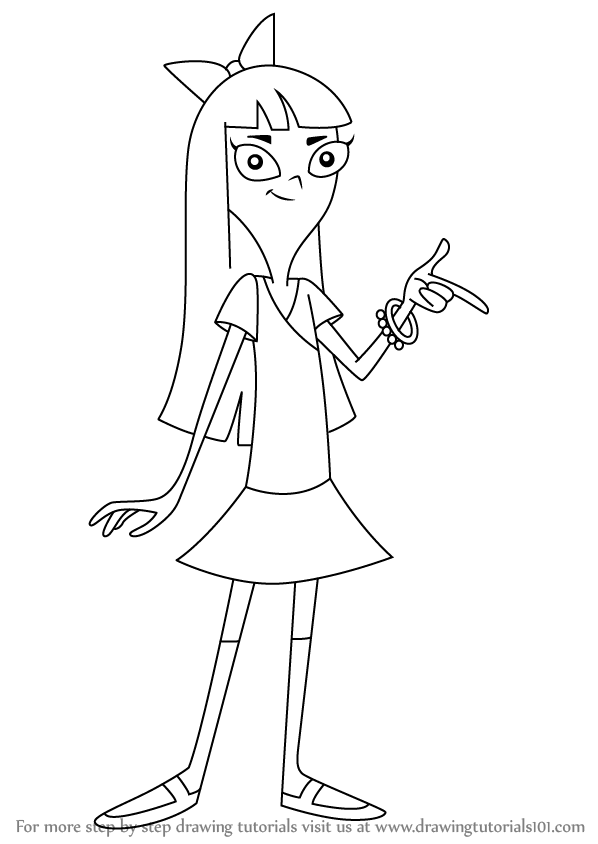 Learn how to draw phineas and ferb