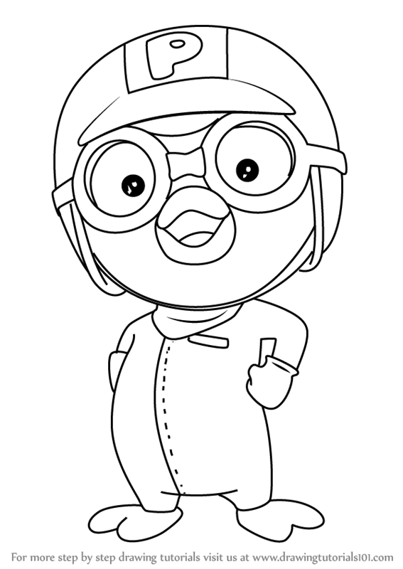Learn how to draw pororo from pororo the little penguin pororo the how to draw pororo from pororo the little penguin altavistaventures Image collections
