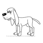 How to Draw Billy Ray from Pound Puppies