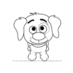 How to Draw Blip from Pound Puppies