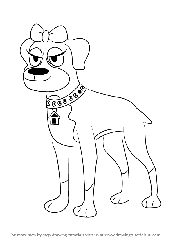 Learn how to draw cookie from pound puppies pound puppies for Pound puppies coloring pages