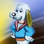 How to Draw Cooler from Pound Puppies