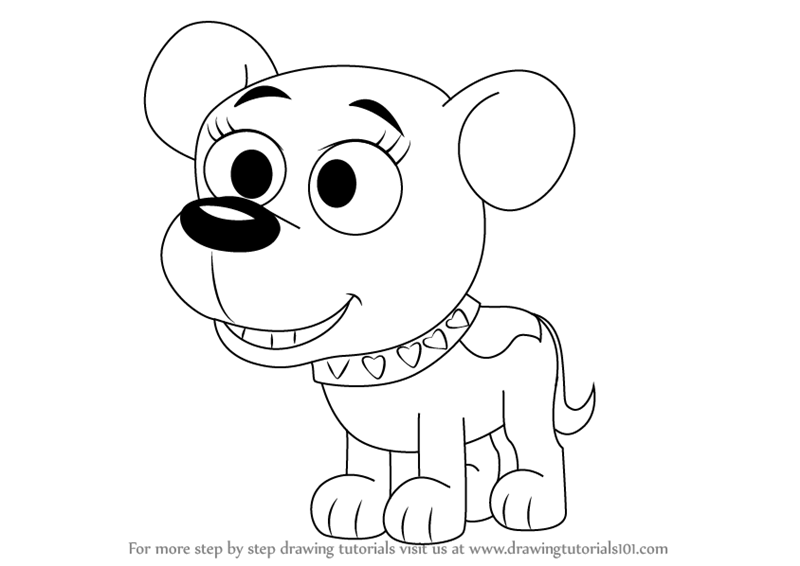 the pound puppies coloring pages - photo#5