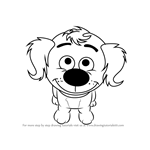 How to Draw Flip from Pound Puppies