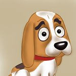 How to Draw Millard from Pound Puppies