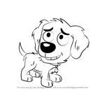How to Draw Noodles from Pound Puppies