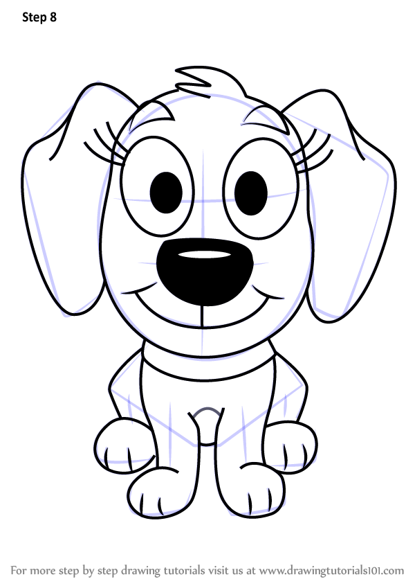 Learn How To Draw Piper From Pound Puppies Pound Puppies