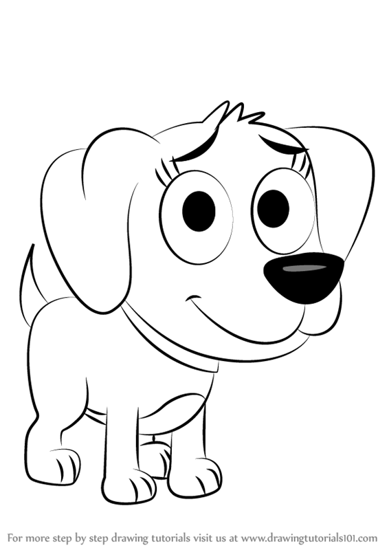 Learn How to Draw Poopsie from Pound Puppies Pound