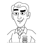 How to Draw Robert Netter from Pound Puppies
