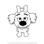 How to Draw Tip from Pound Puppies