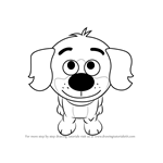 How to Draw Whip from Pound Puppies
