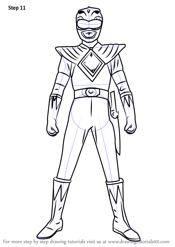 Learn How to Draw Green Ranger