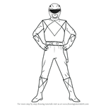 How to Draw Red Ranger from Power Rangers