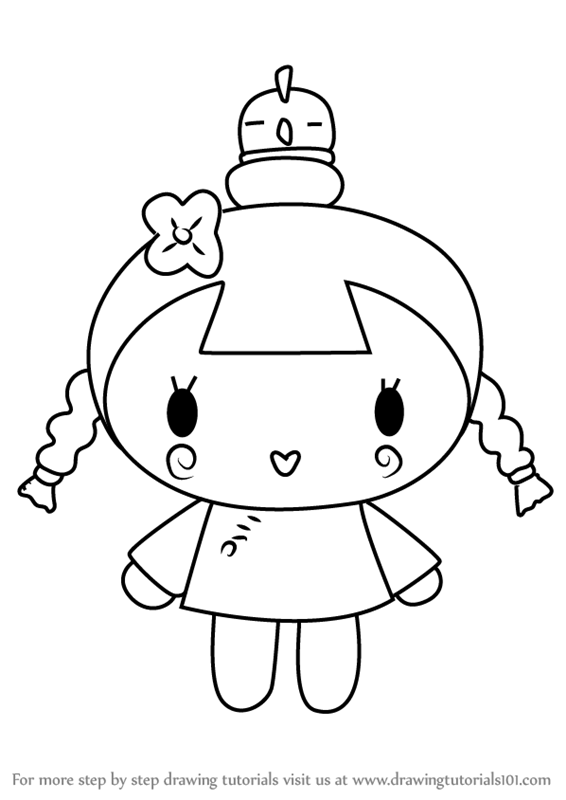 coloring book pages pucca | Learn How to Draw Ching from Pucca (Pucca) Step by Step ...