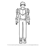 How to Draw Jaune Arc from RWBY