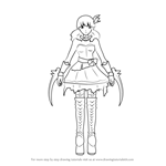 How to Draw Miltia Malachite from RWBY