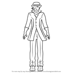 How to Draw Roman Torchwick from RWBY