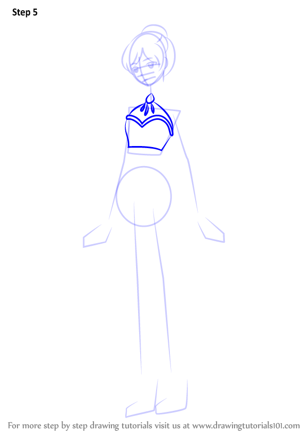 Learn How To Draw Weiss Schnee From RWBY (RWBY) Step By