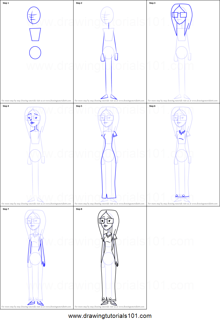 How To Draw Tawny From Randy Cunningham 9th Grade Ninja Printable
