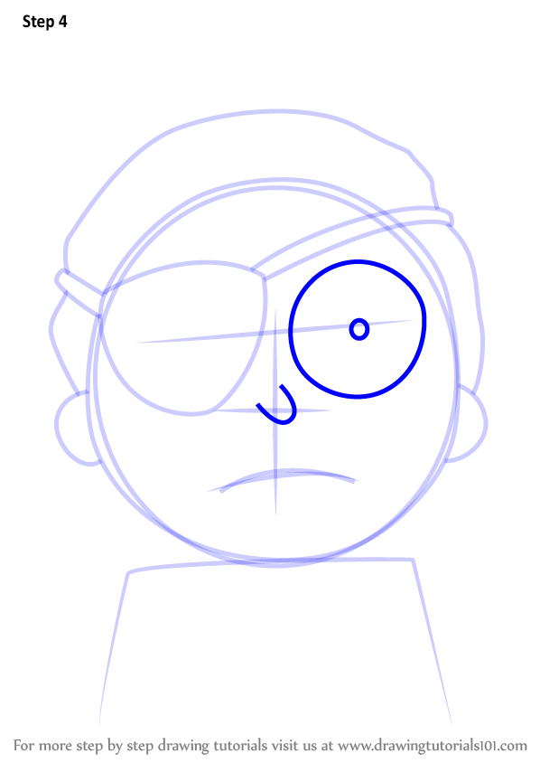 Learn How to Draw Evil Morty from