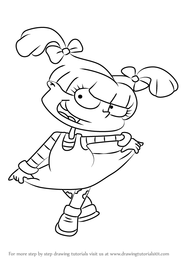 angelica rugrats coloring pages - photo#8