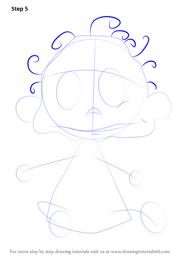 How To Draw Dil Pickles Step By