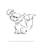 How to Draw Fluffy from Rugrats