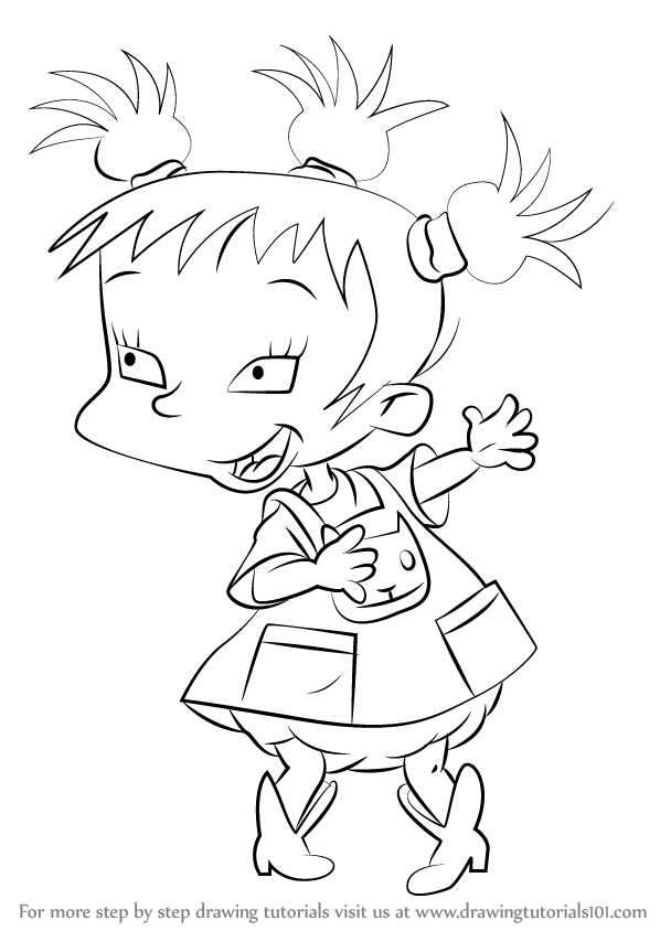 How To Draw Rugrats Characters Step By Step