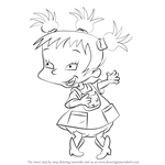 How to Draw Kimi Finster from Rugrats