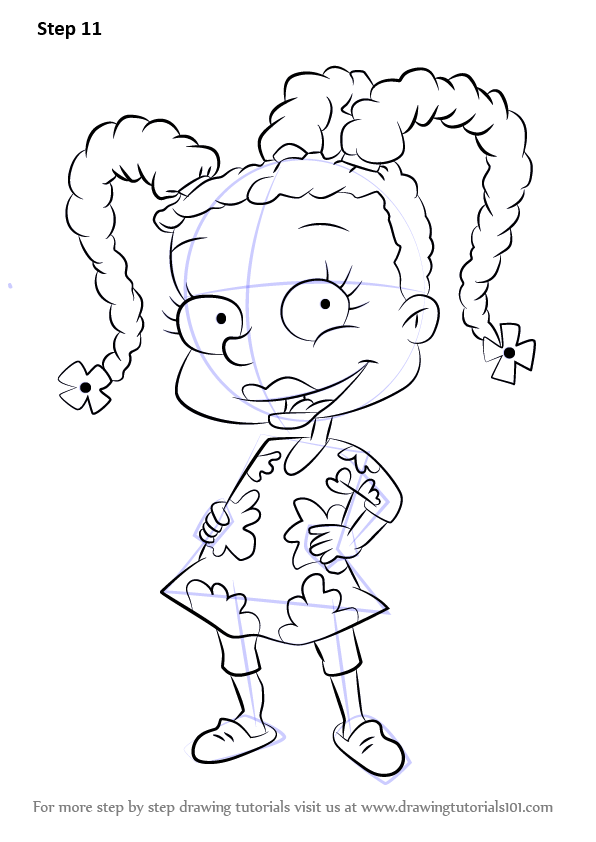 Learn How To Draw Susie Carmichael From Rugrats Rugrats